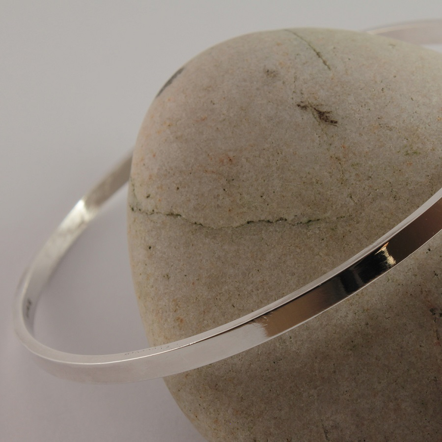 Rectagular Profile Bangle