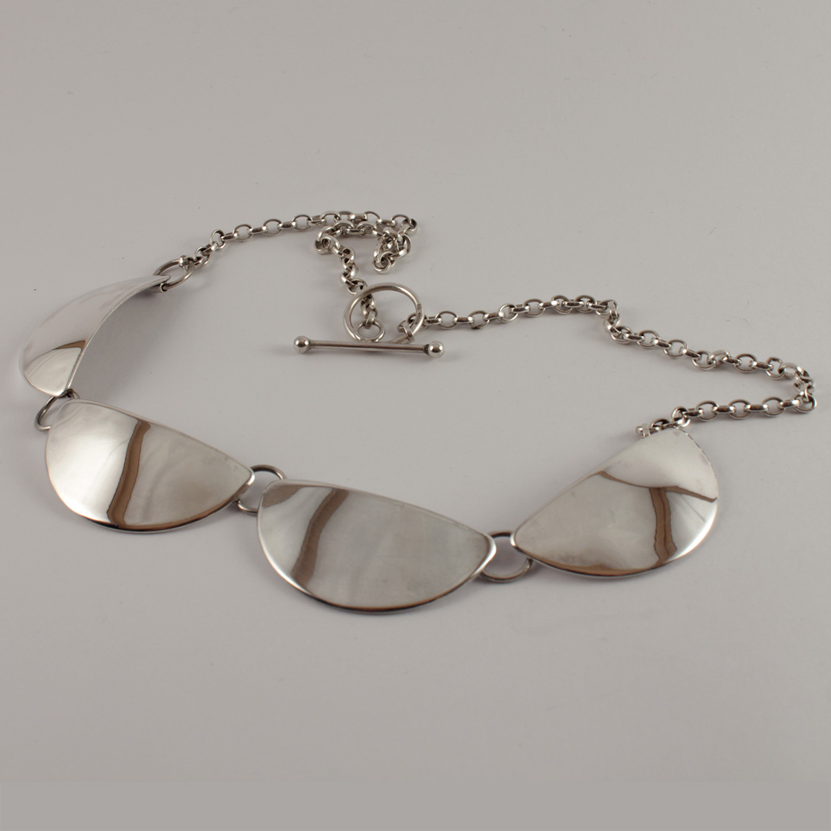 Heavy Sterling Silver Necklace